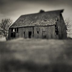 The product of a past way of life, this old barn is slowly fading into history. Located in Boone County Iowa.
