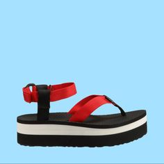 2d5c1f579f6a Teva Flatform Sandals Formula One