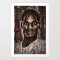 Art Print featuring Face to Face by Douglas Simonson