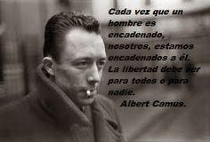 Caminos del viento: Libertad. Camus.