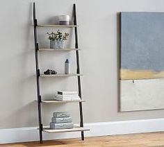 Small Spaces | Pottery Barn   This Shelf Ladder Would Be Great For My Green  Friends