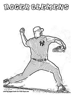 29 Best Brawny Baseball Coloring Pages Images Baseball Coloring