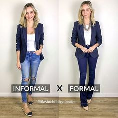 Classy Work Outfits, Office Outfits Women, Mode Outfits, Casual Outfits, Fashion Outfits, Work Fashion, Fashion Advice, Look Blazer, Fashion Vocabulary