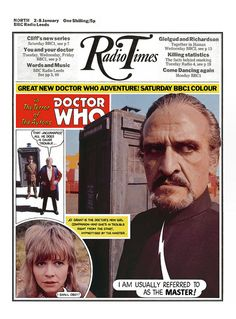 Radio Times Cover 1971-01-02 Doctor Who by combomphotos, via Flickr
