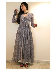 """@kameez.co_ shared a photo on Instagram: """"Kadambini 🌸 up on the website.   Link in story/ DM for direct product link."""" • Jul 24, 2020 at 10:46am UTC Casual Indian Fashion, Indian Fashion Dresses, Indian Designer Outfits, Designer Dresses, Muslim Fashion, Fashion Wear, Designer Wear, Diy Fashion, Fashion Outfits"""