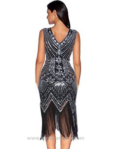 Meilun 1920s Sequined Inspired Beaded Gatsby Flapper Evening Dress Prom  http://www.bestdressusa.com/meilun-1920s-sequined-inspired-beaded-gatsby-flapper-evening-dress-prom/