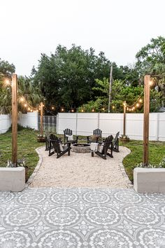 backyard patio fire pit ideas and the best type of pati. - backyard patio fire pit ideas and the best type of patio fire pit Backyard Patio Designs, Backyard Projects, Backyard Seating, Small Backyard Patio, Outdoor Patios, Outdoor Spaces, Backyard Landscape Design, Cheap Patio Ideas, Backyard Ideas On A Budget