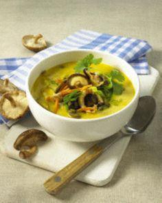 Kokossuppe mit Shiitake-Pilzen Rezept