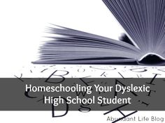 Teaching skills and character traits for success  You can homeschool your high schooler!