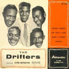 The Drifters featuring Clyde McPhatter Sing EP, The Drifters, Atlantic Vinyl Cover, Cd Cover, Listening To Music, Singing, Classic Album Covers, American Bandstand, Soul Artists, Turner Classic Movies, Vinyl Junkies