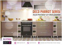 Güzel bir gün geçirmenizi dileriz Senzoni'nin küçük mutfaklar için ideal çözümü olan Deco Parrot Serisi'ne yakından göz atmak ister misiniz? Detaylı bilgi: http://rngmall.com/portfolio/deco-parrot-serisi/ #alanya #mobilya #dekorasyon #alışveriş