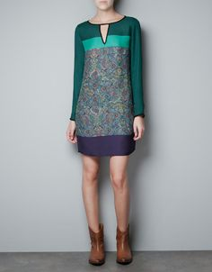 CASHMERE TUNIC DRESS - Woman - New this week - ZARA