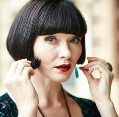 {Essie Davis} Sassy Phryne Fisher ~ Miss Fisher's Murder Mysteries