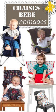 Comparatif pour bien choisir sa chaise bébé nomade en tissu ou autre