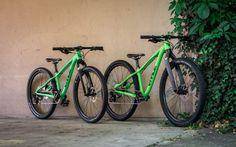 Grüne MAX custom Kinderbikes - VPACE Bikes