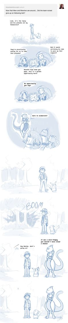 protecting your dumb human by on DeviantArt Mew And Mewtwo, Pokemon Mew, Pokemon Comics, Pokemon Funny, Pokemon Fan Art, Cool Pokemon, Pikachu, Pokemon Chart, Pokemon Stuff