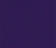 navy coral dot fabric by xoelle on Spoonflower - custom fabric