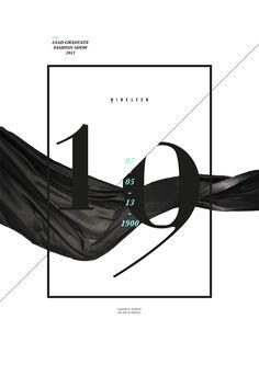 LSAD fashion show. Design by Bretto Mahony