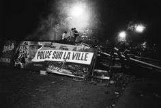 "Paris 10 Mai 1968   ""Boulevard Saint-Michel"""