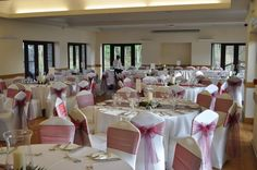 Chair Covers & Bows Inspiration