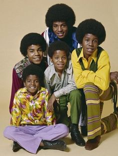 "The Jackson Five. But mustn't forget the other 4! Yep, there were 9 Jackson siblings in total. Just a few of the fantastic songs of the 5 are ""ABC"", ""I Want You Back"" and ""Rockin' Robin""."