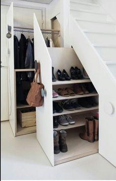 Geweldig mooie oplossing voor onder de trap