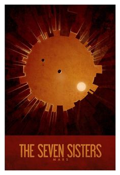 Nasa Space Tourism Poster: The Seven Sisters