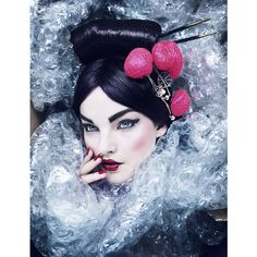 Rankin - Portfolio   Beauty ❤ liked on Polyvore featuring beauties