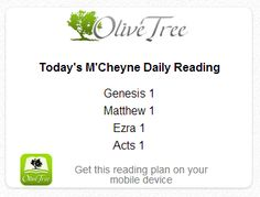 Day 1 the Daily Bible Reading Challenge on RachelWojo.com