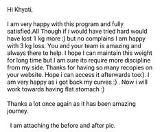 While we were just discussing weight loss on the scale versus fat loss on the body... here is a lovely client having lost 3.5 kg in 5 sessions.. She has lost all the fat, gained health, energy and beauty :) www.balancenutrition.in