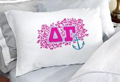Delta Gamma Sorority Pillowcases