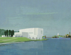Adam Khan Architects, Proposal for Čiurlionis Concert Center in Kaunas