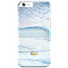 Serenity / iPhone Marble Case ($36) ❤ liked on Polyvore featuring accessories, tech accessories and phone cases