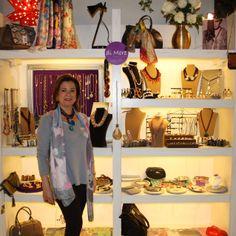 """Carmen Alonso, diseñadora de """"di More"""" en la tienda POP UP Chic"""