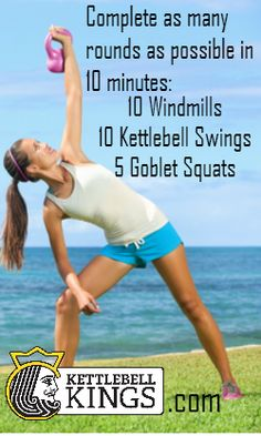 AMRAP KB Workout | Posted by: CustomWeightLossProgram.com