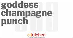Goddess Champagne Punch | CDKitchen.com