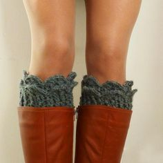 Patterns for knit Leg Warmers, Boot Cuff,  Cowl Neckwarmer
