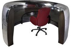 aircraft furniture desk custom made motoart