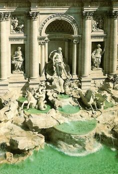 Trevi Fountain, Italy - I had forgotten how huge it is!