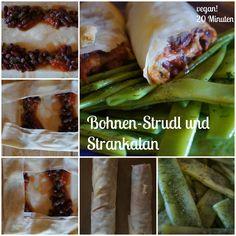 Bohnenstrudl mit Strankalan vegan by AURELIA