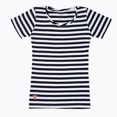 StripedShirt - Black and Gray - Women
