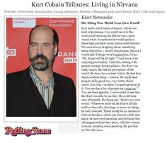 Cool article on kurt