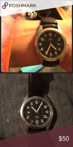 Swiss army watch Fair condition works great victronix swiss army watch Accessories Watches