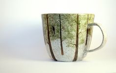 Made to Order: Snowy Woods - Handmade Functional Art Pottery