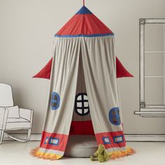 Outer Space reading tent