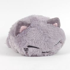 "Amazon.com: FuRyu NemuNeko AMU-PRZ3636 Furry Grey 13.5"" Plush: Toys & Games"