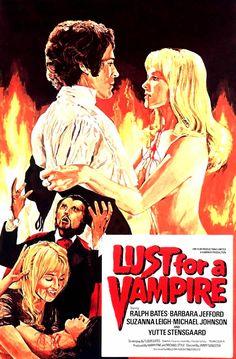 Hammer Horror LUST FOR A VAMPIRE