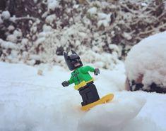 Enjoying the winter in the UK.