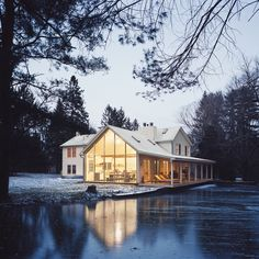"Dwell Travel (@dwelltravel) on Instagram: ""Stay in this home straight out of the pages of Dwell Magazine. Dubbed ""Floating Farmhouse,this…"""
