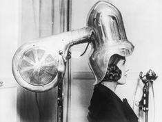 Vintage hairdryer. Need to get me one of these!